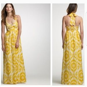 J. Crew Ikat Halter Dress | Size 4
